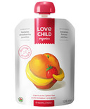 Love Child Organics Pouch Bananas, Strawberries & Peaches