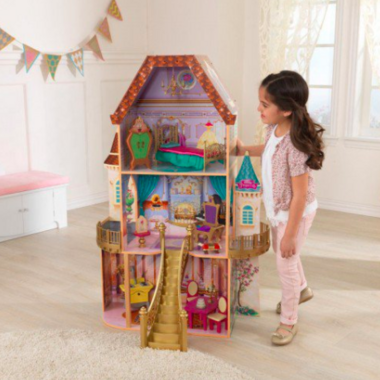 KidKraft Disney Princess Belle Enchanted Dollhouse