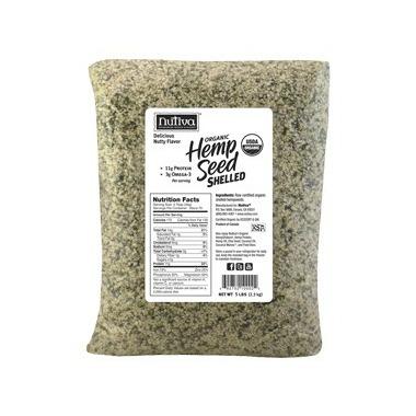Nutiva Organic Shelled Hemp Seed