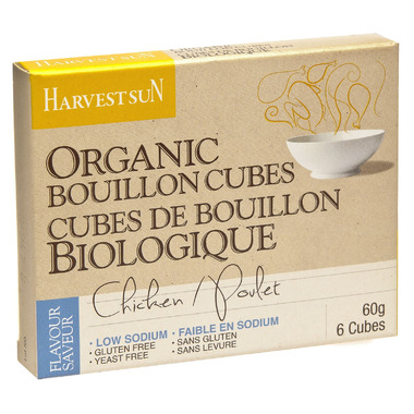 Harvest Sun Organic Chicken Low Sodium Bouillon Cubes