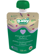 Baby Gourmet Pear Purple Carrot Blueberry Organic Baby Food