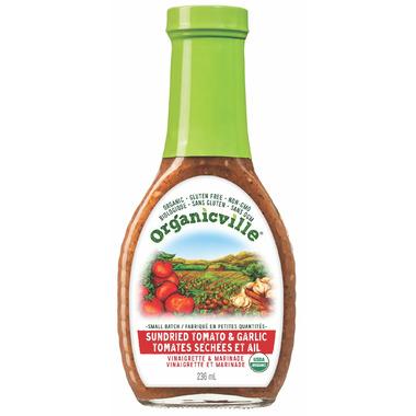 Organicville Sun Dried Tomato & Garlic Vinaigrette