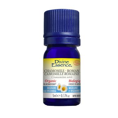 Divine Essence Roman Chamomile Organic Essential Oil