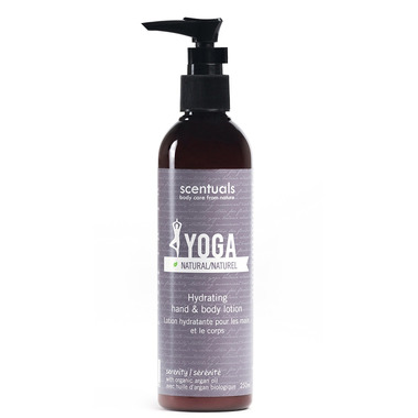 Scentuals Yoga Serenity 100% Natural Relaxing Body Lotion