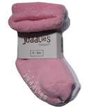Juddlies 2 Pack Socks Pink and White