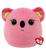 Ty Squish-A- Boos Poppy l'ours Koala rose