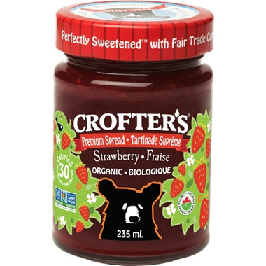 Crofter\'s Organic Strawberry Premium Spread
