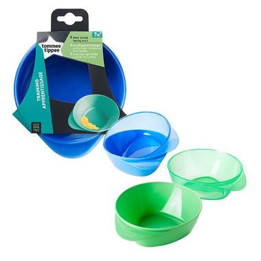 Tommee Tippee Easy Scoop Feeding Bowls 4 Pack