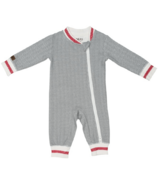 Juddlies Organic Cottage Playsuit Driftwood