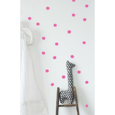 Wee Gallery Wee Cals Hot Pink Dots