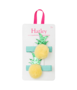 Hatley Pom Pom Pineapples Hair Clips
