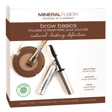 Mineral Fusion 3 Piece Brow Basics Kit