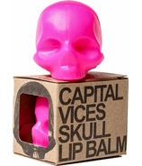 Rebels Refinery Mint Skull Lip Balm Pink
