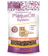 ProDen Plaque Off System Crunchy Dental Bites for Cats Salmon