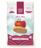 Love Child Organics Pat-A-Cake Apple & Raspberry