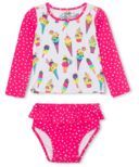Hatley Cool Treats Baby Rashguard Set