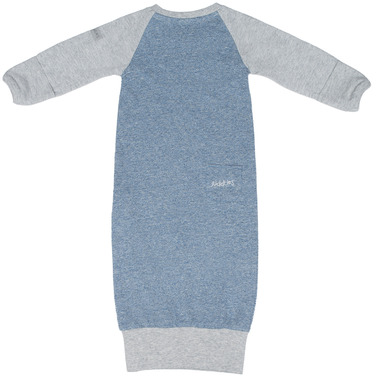 Juddlies Raglan Organic Nightie Denim Blue