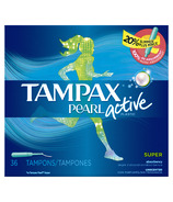 Tampax Pearl Active Tampons Super