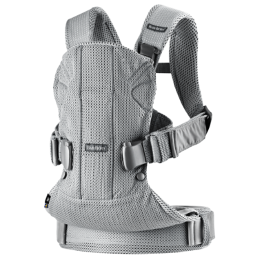 BabyBjorn Baby Carrier One Air Silver 3D Mesh