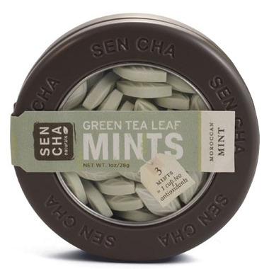 Sencha Naturals SEN CHA Moroccan Mint Green Tea Leaf Mints