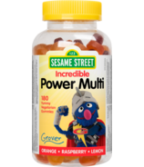 Sesame Street by Webber Naturals Multivitamin Gummy