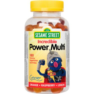 Sesame Street by Webber Naturals Multivitamin Gummy