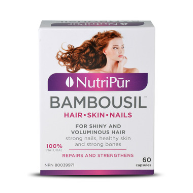 Nutripur BambouSil Hair-Skin-Nails