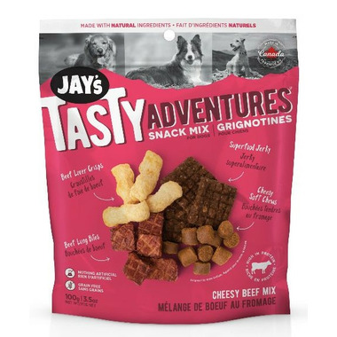 Jay\'s Tasty Adventures Cheesy Beef Snack Mix