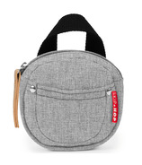 Skip Hop Grab & Go Pacifier Pocket Grey Melange