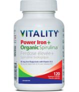 Vitality Power Iron + Organic Spirlulina