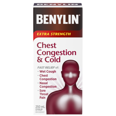 Benylin Extra Strength Chest Congestion & Cold Syrup