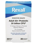 Rexall Adult 50+ Immunity Probiotic 11 Strains 20 Billion CFU