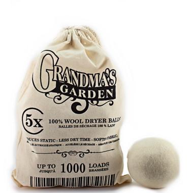 Grandma\'s Garden Laundry Line 100% Wool Dryer Balls