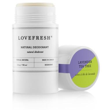 Lovefresh Lavender Tea Tree Natural Cream Deodorant Stick