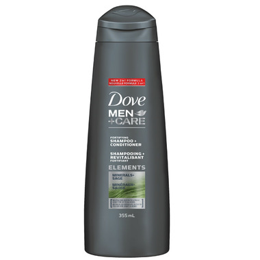 Dove Men+Care Minerals + Sage Fortifying Shampoo + Conditioner