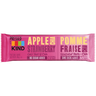Pressed by KIND Apple Strawberry Chia Bar