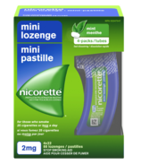 Nicorette Nicotine Mini Lozenges Mint 2mg