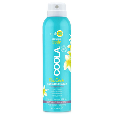 COOLA Body Sunscreen Spray SPF 30 Pina Colada
