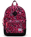 Herschel Supply Heritage Youth Cheetah Camo Neon Pink/Black