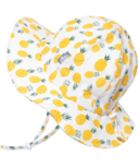 Jan & Jul Yellow Pineapple Cotton Floppy Hat