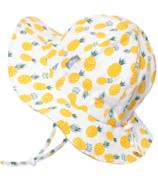 Jan & Jul Yellow Pineapple Cotton Floppy Hat