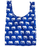 Baggu Standard Baggu Reusable Bag in Blue Elephant