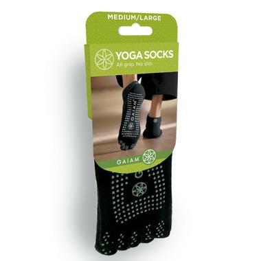 Gaiam No Slip Yoga Socks