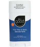 All Good Tea Tree & Basil Deodorant