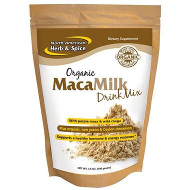 North American Herb & Spice Organic MacaMilk Drink Mix