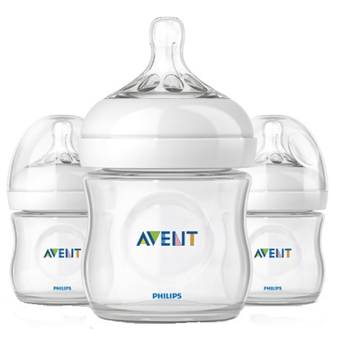 Philips AVENT Natural 4 oz Bottles