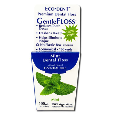 Eco-Dent GentleFloss Dental Floss Mint