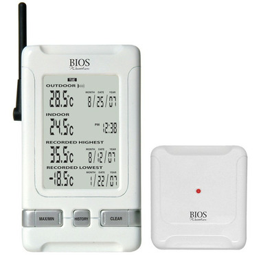 Buy Bios Indoor Outdoor Wireless Almanac Thermometer at Well.ca ... b9bc4cb27fe10