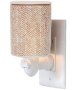 Happy Wax Outlet Plug In Warmer Herringbone Print