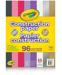 Crayola Construction Paper with Metallics